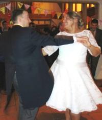 Dancing small